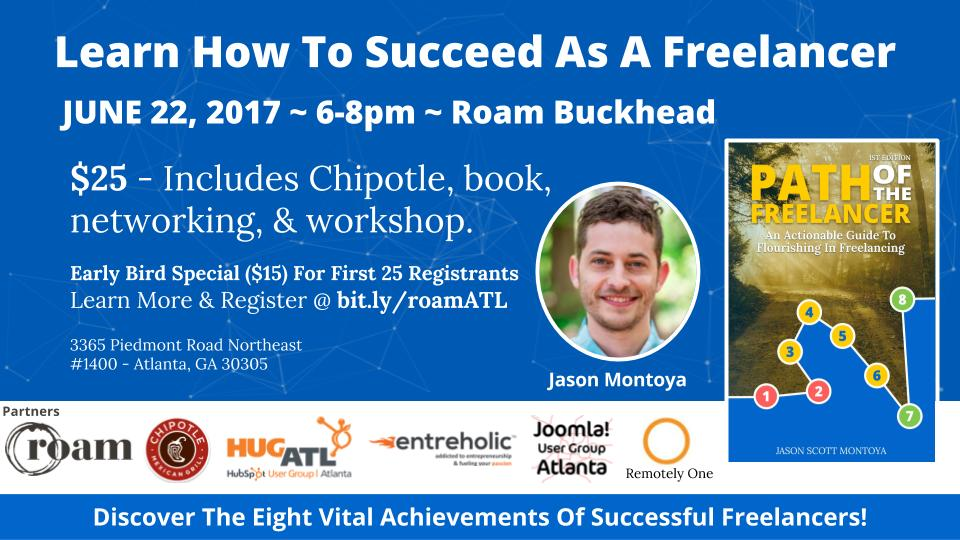[Event] Learn How To Succeed As A Freelancer [June 22]